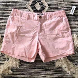 Old Navy Pink Chino Shorts